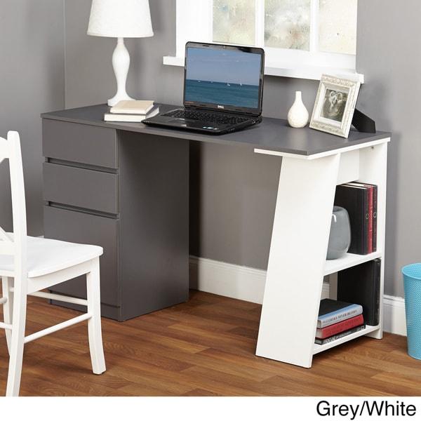 Overstock Online Stores: Simple Living Como Modern Writing Desk