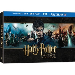 Harry potter hogwarts collection blu ray dvd p16148564