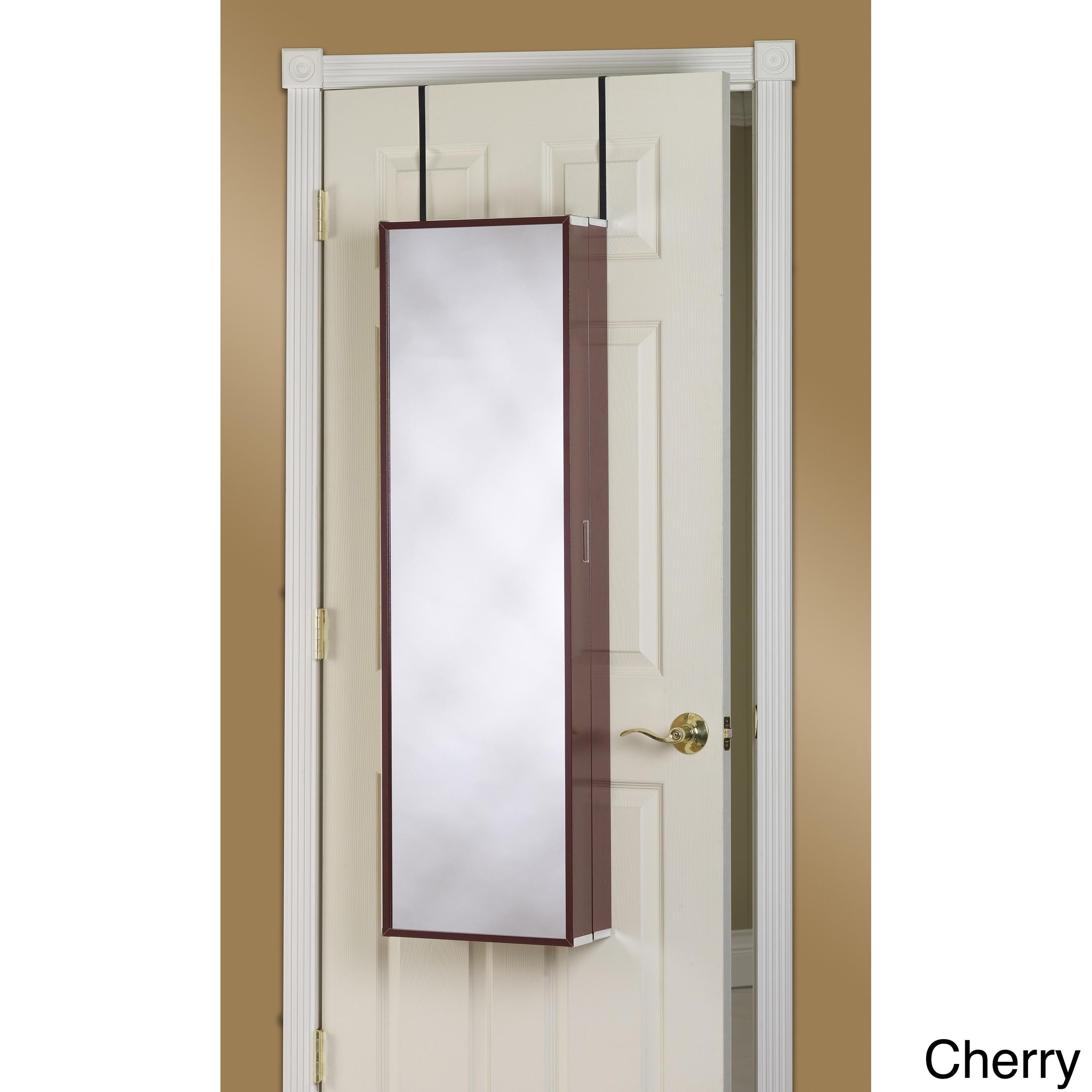 over the door mirror makeup vanity armoire overstock shopping great deals on mirrors. Black Bedroom Furniture Sets. Home Design Ideas
