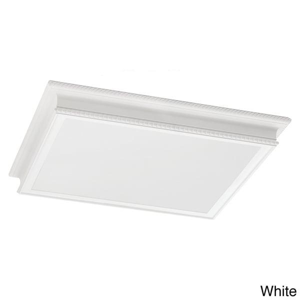 4-light Drop Lens Fluorescent Fixture