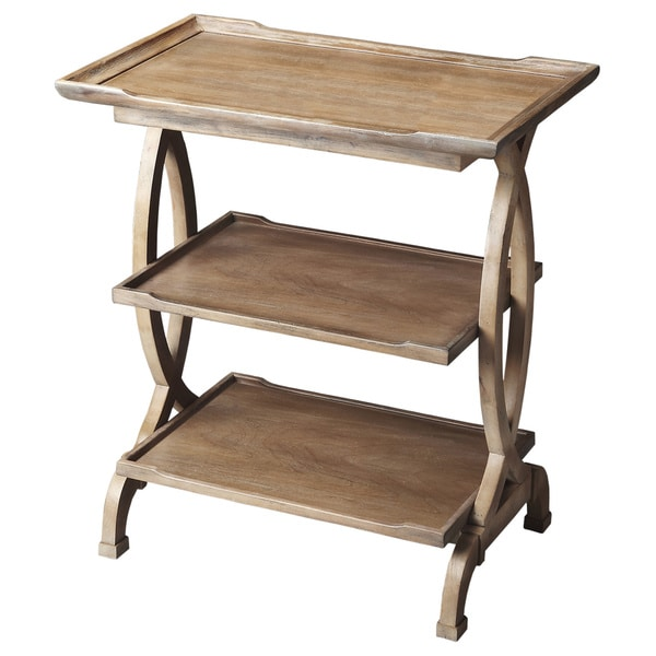 Driftwood Side Table And Handy Shelf 16172210