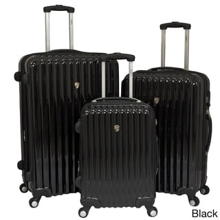 e7f86356d review detail World Traveler Voyager Expandable 3-piece Hardside Spinner Luggage  Set with TSA Lock