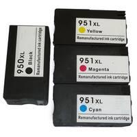 HP 950XL/951XL Black/Color Ink Cartridge Replacement for CN045AN, CN046AN, CN047AN, CN048AN (#140)
