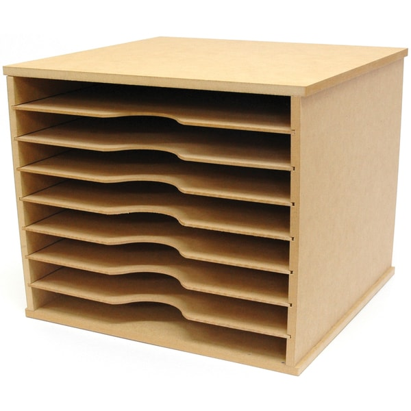 Beyond The Page Mdf Paper Storage Unit 16175685