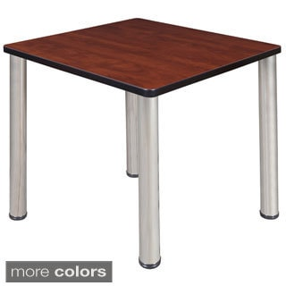 42 Inch Round Table With Black Post Legs 15151649