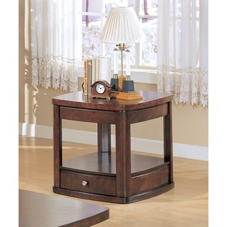 Dark Cherry 2 Drawer Lift Top Cocktail Table 13997719