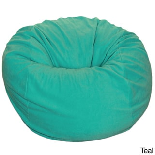 anti pill 36 inch wide fleece washable bean bag chair. Black Bedroom Furniture Sets. Home Design Ideas