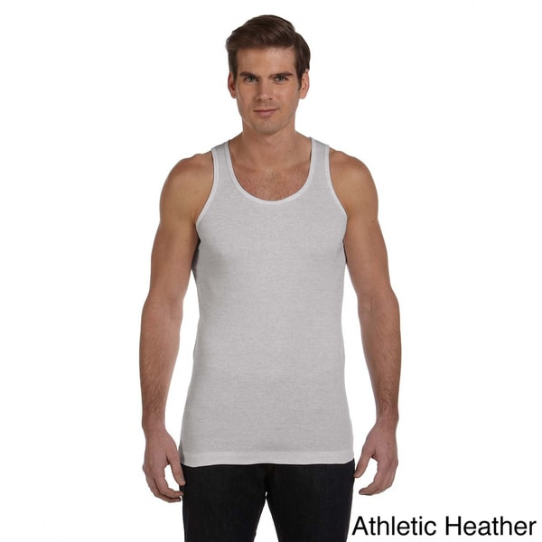 e608930c5513b4 Hanes Mens Tagless Ribbed A Shirt (Pack of 4) on PopScreen