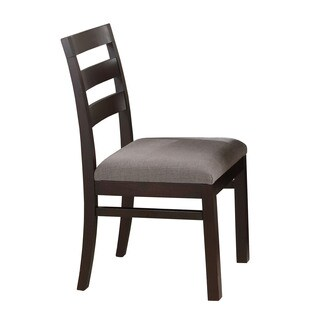 Dark Cappucino Libby Side Chair 16613978 Overstock Com