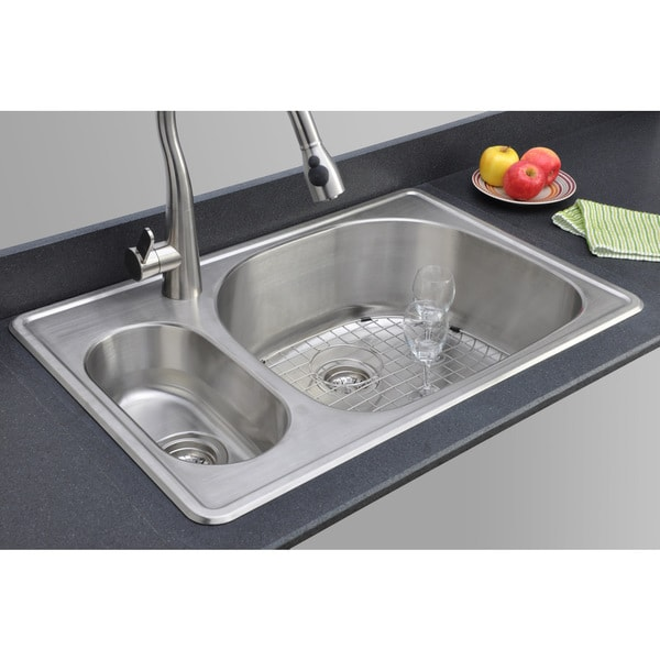 Inch Double Kitchen Sink