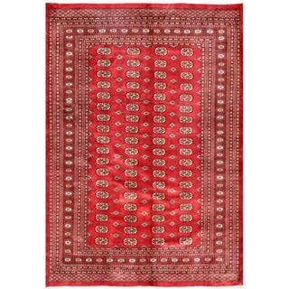 Hand Knotted Abbigail Border Indoor Rug 5 X 8