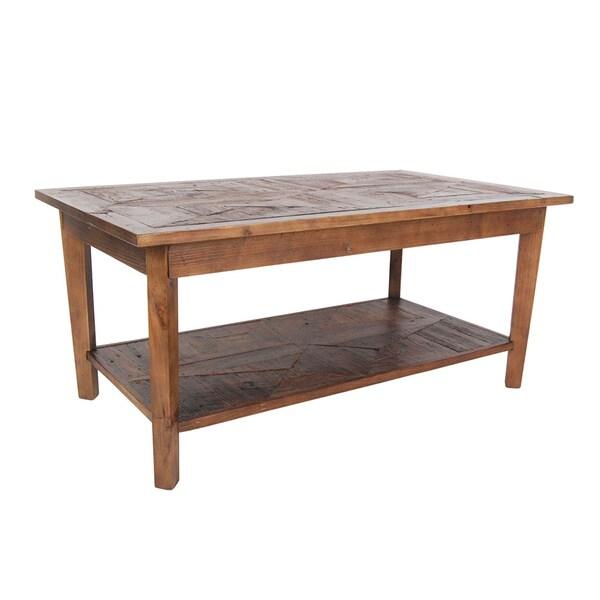 Alaterre Heritage Reclaimed Wood Coffee Table