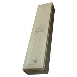 Baldwin 72 Inch Natural Recessed Pantry Storage Cabinet