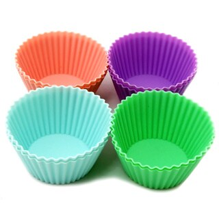 Le Chef Assorted Colors Silicone Baking Cups (Set of 8)