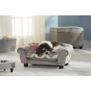 Enchanted Home Pet Small Lotus Furniture Pet Bed