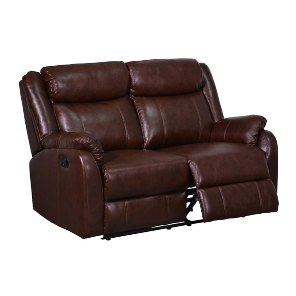 Double Leather Recliners 2