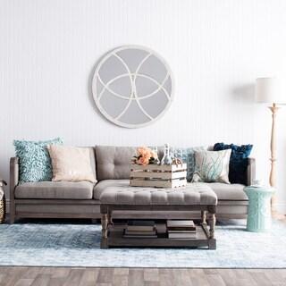Phenomenal Abbyson Living Richfield 4 Piece Premium Top Grain Leather Pdpeps Interior Chair Design Pdpepsorg