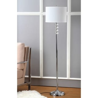 Endless Sphere Off White Shade Floor Lamp 11549001 Overstock Com Shopping Great Deals On I