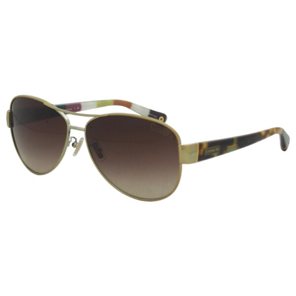2b0d4659a2 Coach Aviator Sunglasses Review