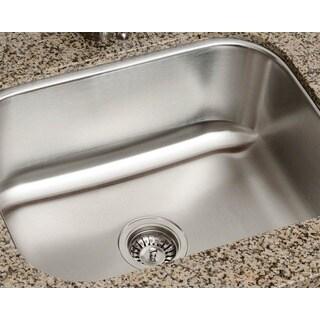 Polaris Sinks P8132-16 Single Bowl Stainless Steel Kitchen Sink