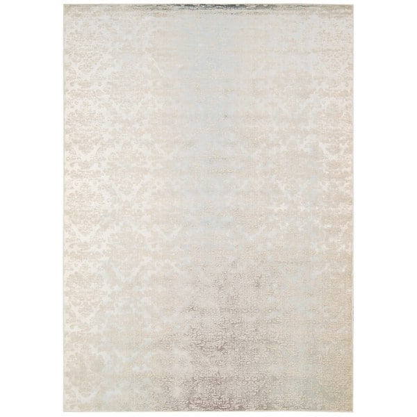Nourison Luminance Sea Mist Rug 7 6 X 10 6
