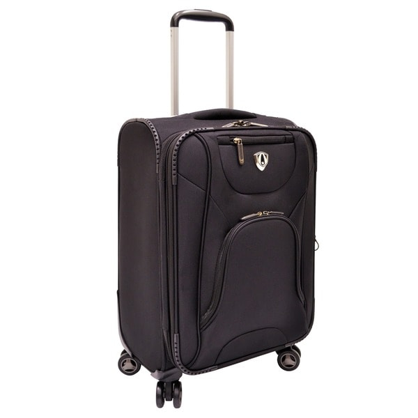 Traveler S Choice Black Cornwall 22 Inch Honeycomb Carry