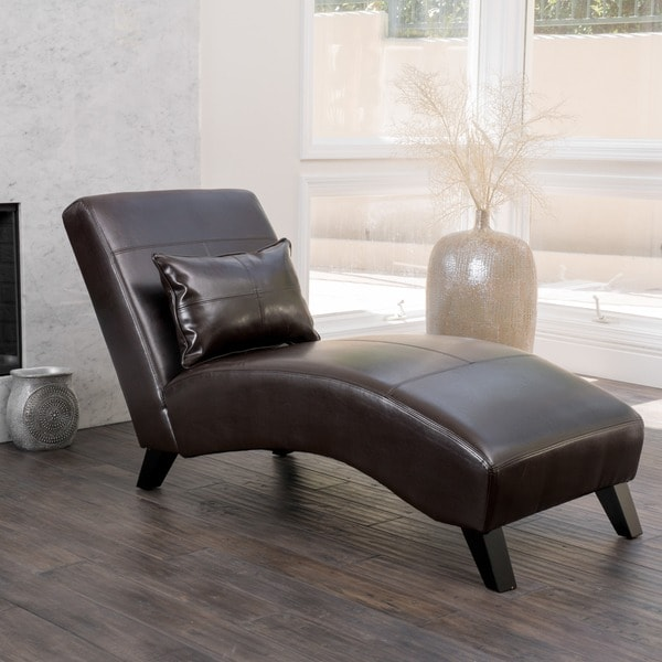 Christopher Knight Home Charlotte Brown Bonded Leather