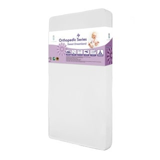 La Baby 3 Inch Organic Cotton Compact Crib Mattress