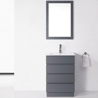 Modern Bathroom Vanities Amp Vanity Cabinets Overstock Com
