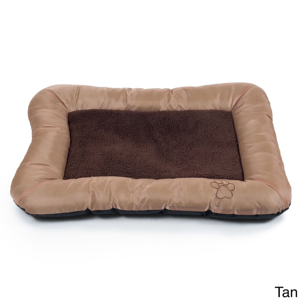 Paw Plush Cozy Pet Crate Dog Bed 16257798 Overstock
