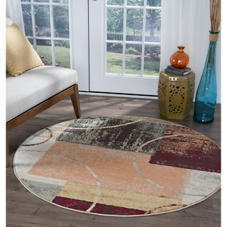 Contemporary Round Oval Amp Square Area Rugs Overstock