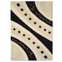 Mystique Abstract Arches Rug - 7.10 x 10.10