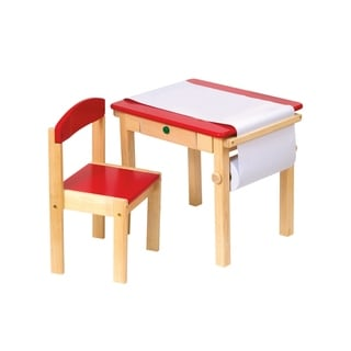 Crayola Wooden Table And Chairs Set 13652239 Overstock