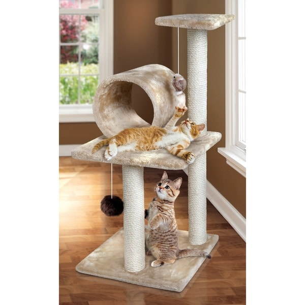 Animal Planet Three Tier Cat Tree With Scratching Posts
