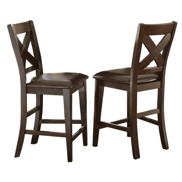 Greyson Living Copley Counter Height X Back Chair Set Of