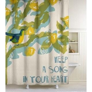 Green Shower Curtains Overstock Com Vibrant Fabric Bath