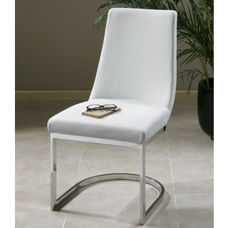 Collins Ivory Mid Century Accent Chair 14027652