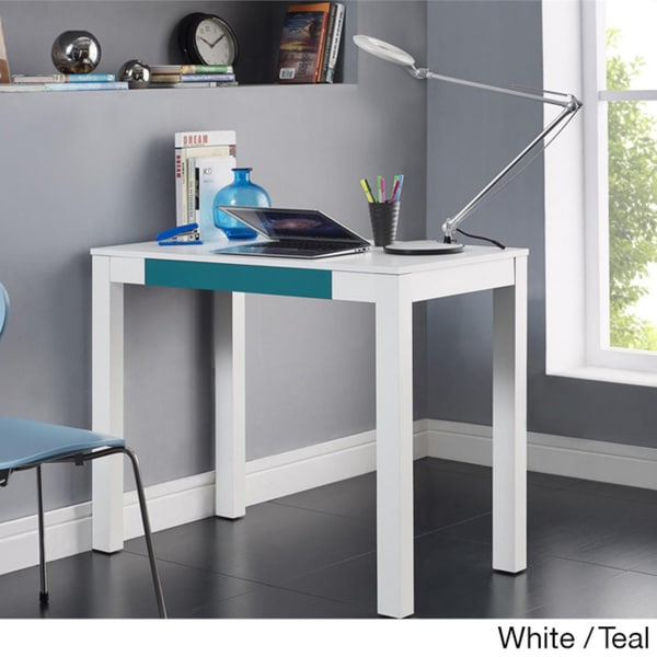 altra parsons desk with drawer 16276635 shopping the best prices on altra. Black Bedroom Furniture Sets. Home Design Ideas