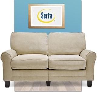 Serta Copenhagen Collection Vanity Beige Love Seat
