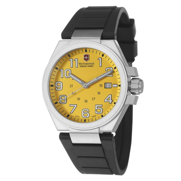 Victorinox Swiss Army Men s  Active Convoy  Stainless Steel Military Time Watch  Victorinox Swiss Army Men s Swiss Army Watches a25b15d17c