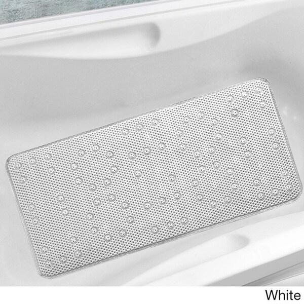 Antibacterial Cushioned Waffle Bathtub Mat 16279866