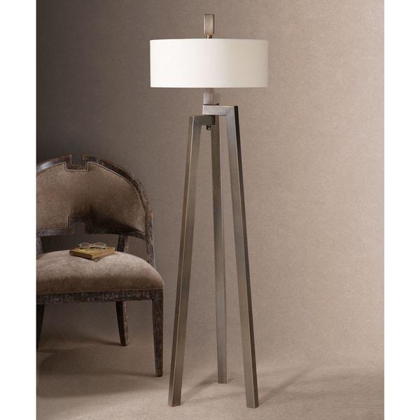Uttermost Mondovi Metal Fabric Floor Lamp 16281287