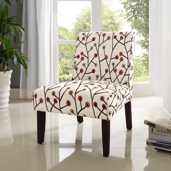 Teagan Armless Accent Chair 16284997 Overstock Com