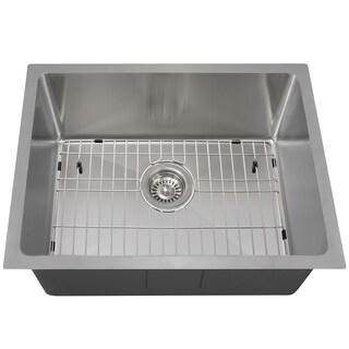 The Polaris Sinks P3281 18-gauge Kitchen Ensemble