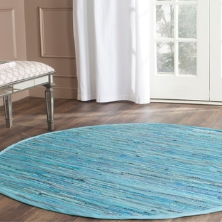 Charisma Indoor Outdoor 6 Foot Round Braided Rug By Rhody