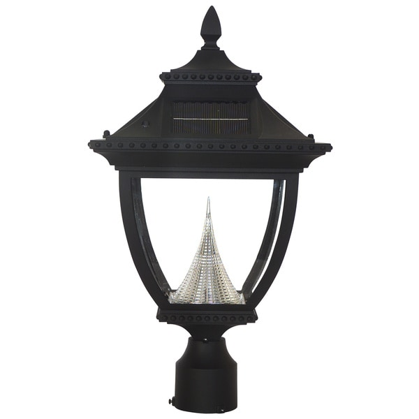 Gama Sonic Gs 104f Pagoda Solar Light With 8 Bright White