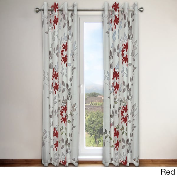 Famous Home Reni Grommet Top 95 Inch Curtain Panel Pair