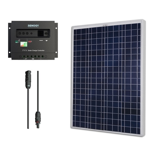 Renogy Solar Bundle Kit 100w Polycrystalline 12v With