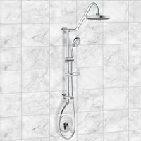 Pulse ShowerSpa Pulse Kauai II Brushed Brass and ABS Rain Shower System