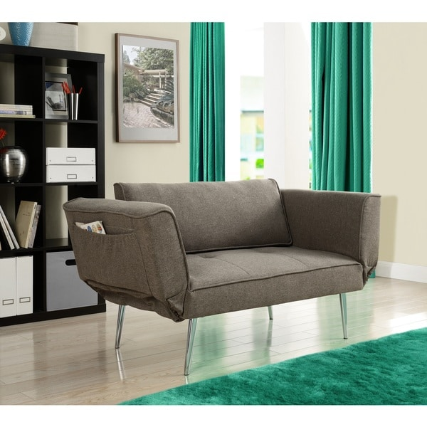 Sofa Bed Deals: DHP Euro Futon Sofa Bed With Magazine Storage